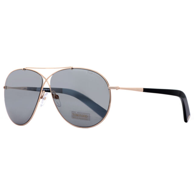 aviator sunglasses mirror sb1e  Tom Ford Eva TF 374 28Q Rose Gold/Blue Gray Unisex Aviator Sunglasses