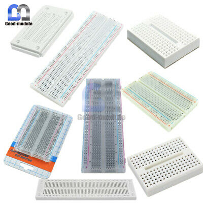 Durable Mini 170 270 400 700 830 Tie Points Solderless Breadboard Pcb Board