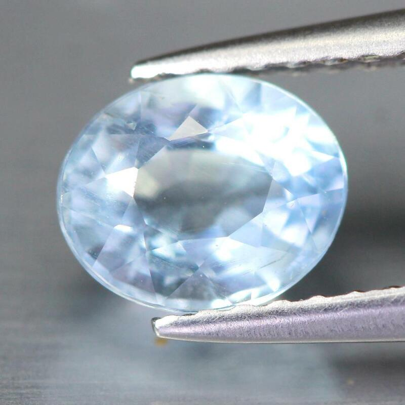 Certificate Include 0.83Cts Natural Paraiba Blue Apatite Oval Loose Gemstone
