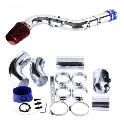 76MM Universal Car Performance Cold Air Filter Induction Intake Pipe Hose Kit UK