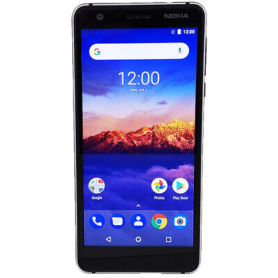 Nokia 3.1 TA-1049 Android One 16GB LTE GSM Factory Unlocked Smartphone A Grade
