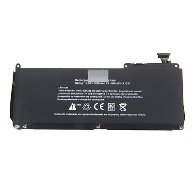 Battery For Apple Macbook A1342 A1331 Late 2009 Mid 2010 020-6809-A 020-6810-A