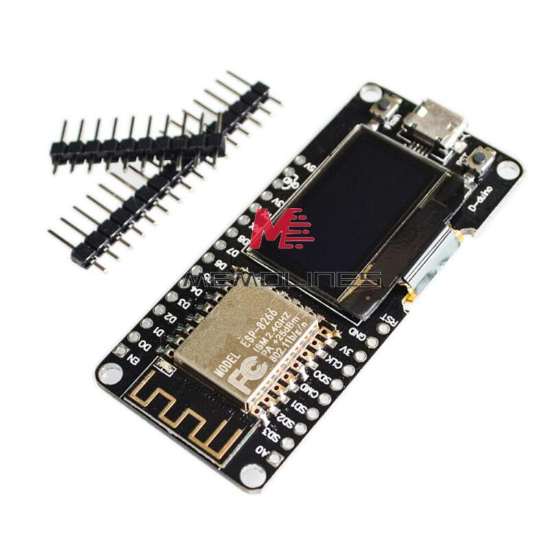 """0.96""""oled Ttgo Esp32 Esp8266 12f Cp2102 Battery For Wemos Wifi Bluetooth"""