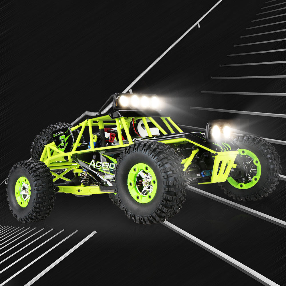 Wltoys 12428 2.4G 4WD RC Crawler RTR. Ships same day,cutoff 1pm PST. USAdealer.