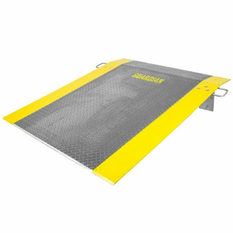 "60"" x 48"" Loading Dock Plate for Pallet Jack Truck 1,800lb Capacity"