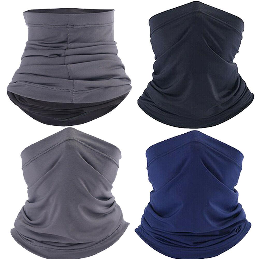 Face Mask Windproof Summer Neck Gaiter Women Men Tube Bandana Scarf Sun Shield Clothing, Shoes & Accessories