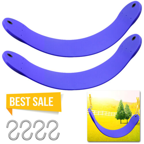 Heavy Duty Replaceful Blue U Shape Swing Seat Swing Set For