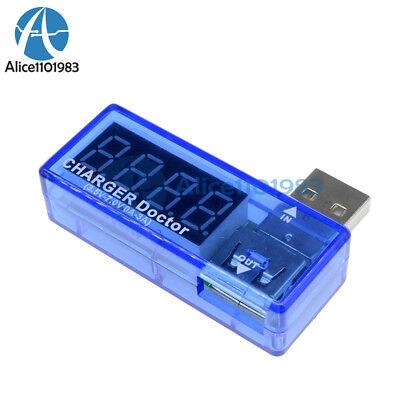 USB Charger Doctor Voltage Current Meter Mobile Battery Tester Power Detector Bl