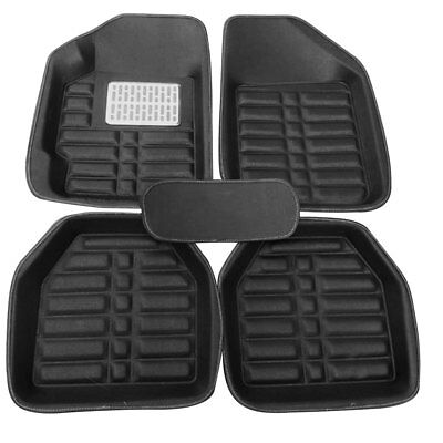 US 5pc Universal All Car Floor Liner Floor Mat Carpet Front&Rear All Weather Set