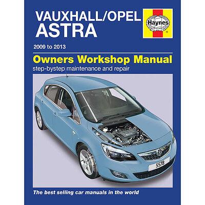 Vauxhall Opel Astra 1.4 1.6 Petrol 1.3 1.7 2.0 Diesel Dec 09-13 Haynes Manual