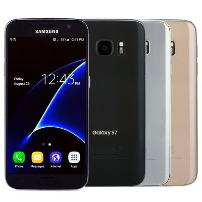 Samsung Galaxy S7 Smartphone Choose AT&T Sprint GSM Unlocked T-Mobile or Verizon
