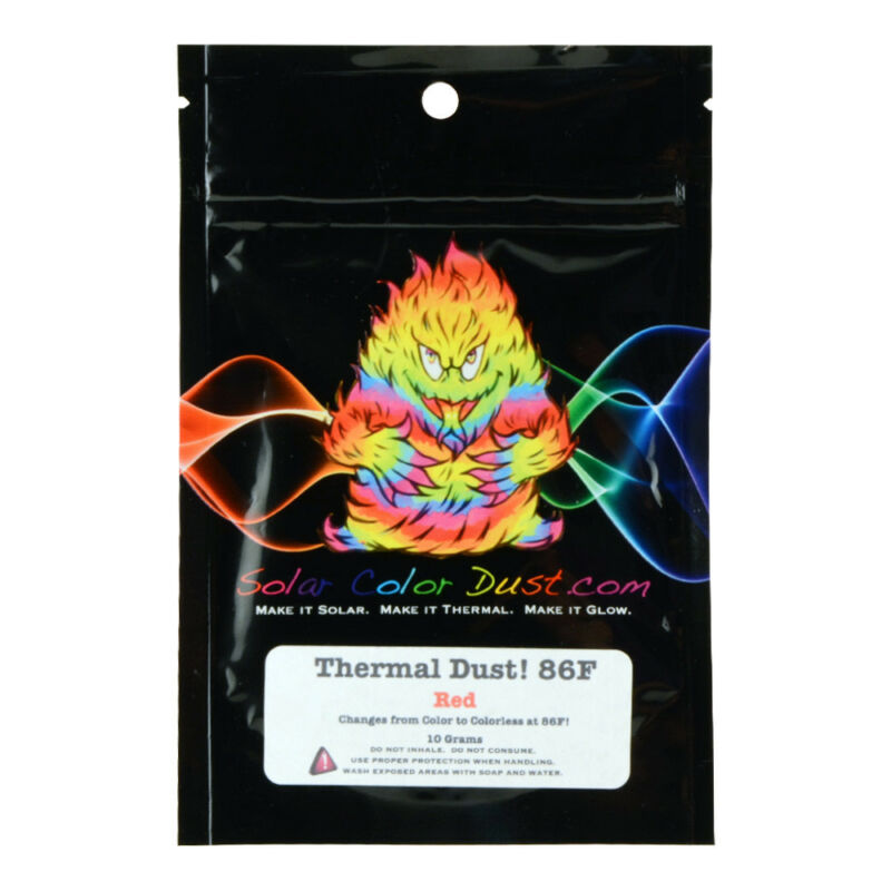 SCD Thermal Dust 86F Heat Sensitive Red 10g