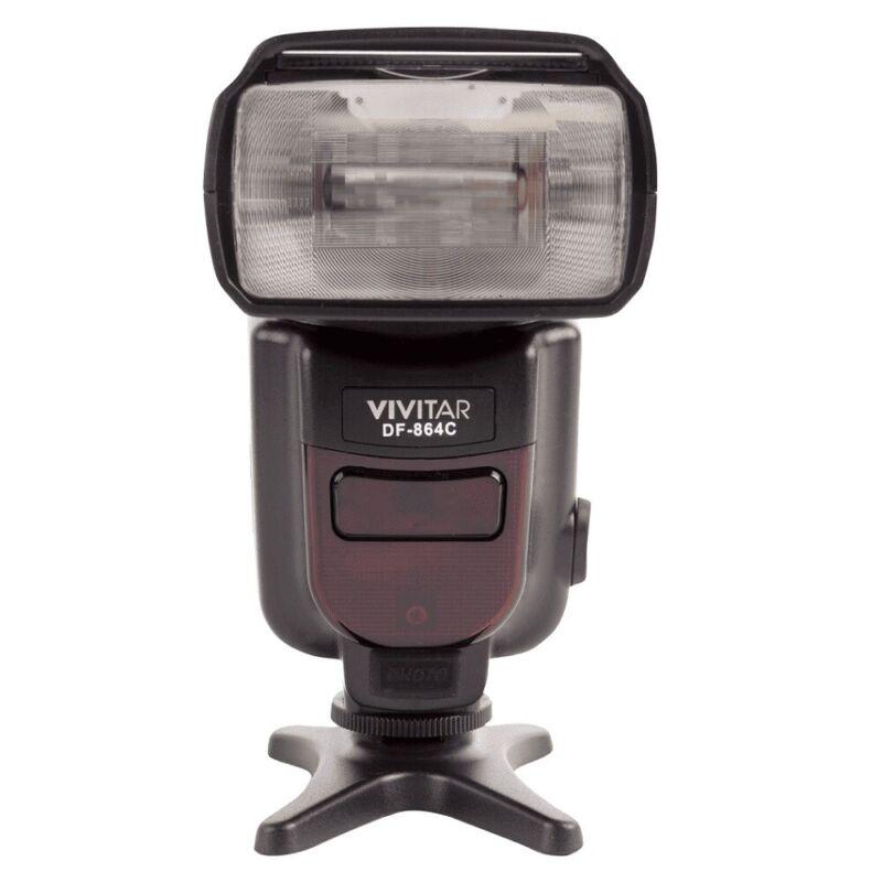 Vivitar DF-864 DSLR Speedlight Flash for Canon DSLR Cameras