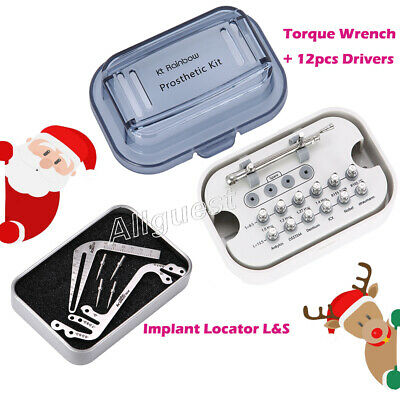 Dental Implant Torque Wrench Drivers Implant Locator Depth Parallel Pin Gauge