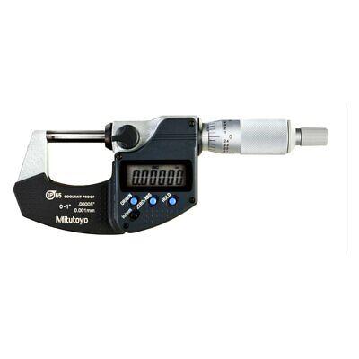 Mitutoyo 293-340-30 Series 293 Saemetric Digimatic Coolant Proof Micrometer