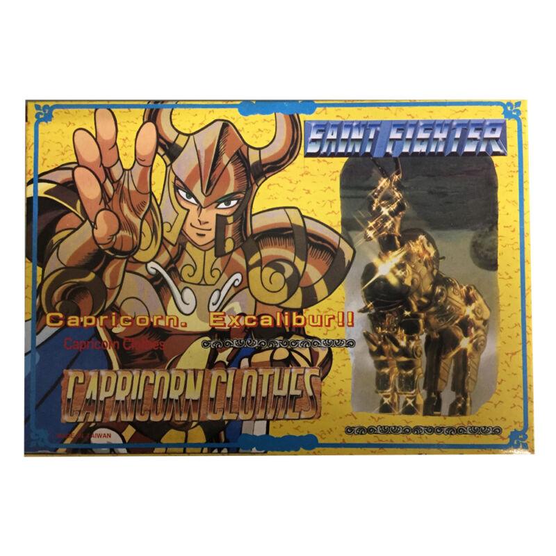 1987 Vintage Saint Seiya Die-Cast Asia Version Gold Capricorn Shura Figure