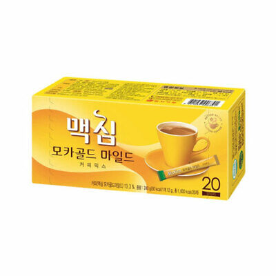 [MAXIM] Mocha Gold Mild Coffee Mix - 1pack (20pcs) / Free Gift