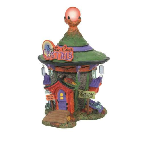 Dept 56 CRYPTIC CAVE CRYSTALS Halloween Village 6007641 New 2021 Witch Hallow