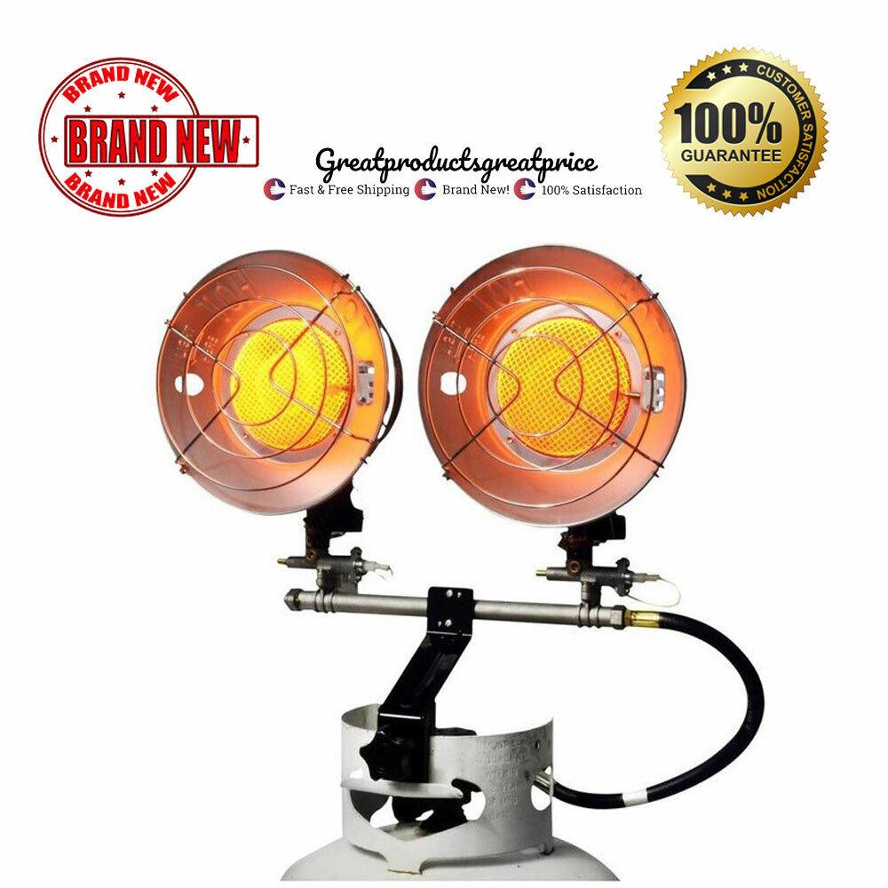 Mr Heater Double Tank Top 10000 - 30000 BTU Liquid Propane H