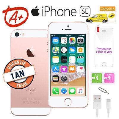 Grade A+ Apple iPhone SE 64go 64GB DÉBLOQUÉ Téléphones Mobile - OR ROSE FR