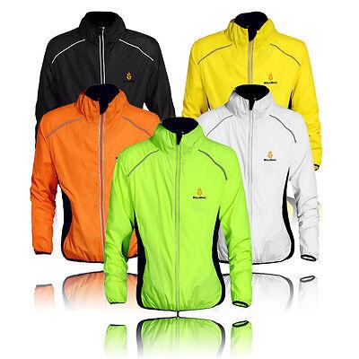 Highly Visibility/Hi Viz Windproof/Breathable Running Riding Coat Cycling Jacket