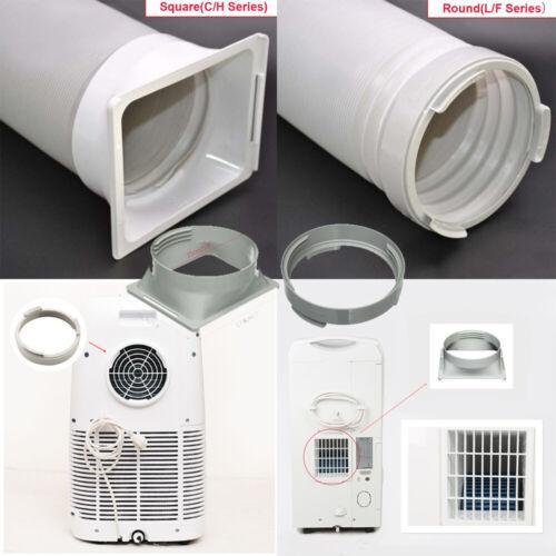 5.9'' Round/Square Air Conditioner Exhaust Hose Tube Adaptor