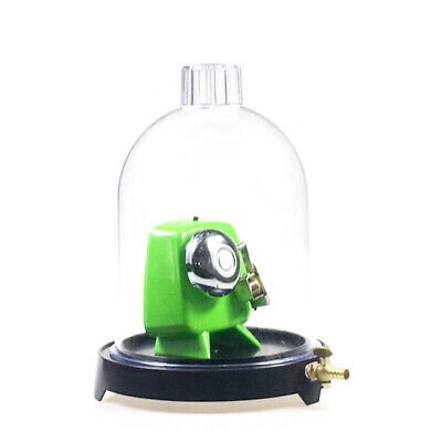 Vacuum Hood Suction Disc Bell in Vacuum Laboratory Plastic Jar Physics USA (Vacuum Hood)