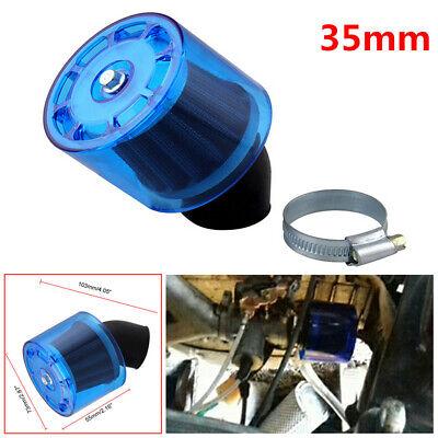 35mm Air Filter Cleaner 50cc 110cc 125cc ATV PIT Bike 45° Splash Proof + Cover segunda mano  Embacar hacia Mexico