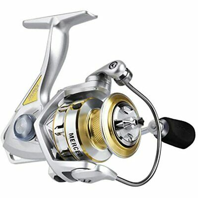 RUNCL Spinning Fishing Reel Merced 3000, - 10+1 HPCR Ball Bearings, Multi-Disc