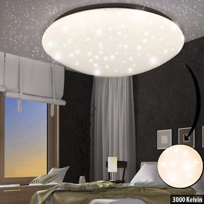LED 24 Watt Sternen-Himmel Decken-Leuchte Rund Kinder-Zimmer Effekt Beleuchtung