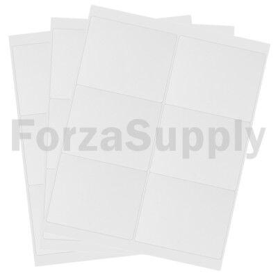 240 4 X 3 13 Ecoswift Laserink Address Shipping Adhesive Labels 6 Per Sheet