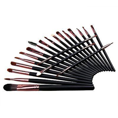 (Professional 20pcs Makeup Brushes Beauty Eyeshadow Powder Eyeliner Lip Brush Set)