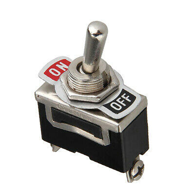 Heavy Duty Toggle Switch Onoff Light Metal 12 Volt Dpdtspst Flick Car Dash