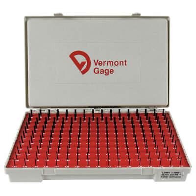 Vermont Gage 902100200 Plug Gage Setplus1.30-4.98mmblack