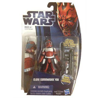 Star Wars The Clone Wars Commander Fox Action Figure](Star Wars The Clone Wars Fox)