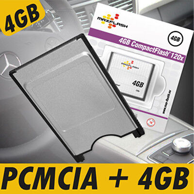 W221 S-Klasse 4GB PCMCIA CF Multi Card Reader KIT MB Mercedes Benz Comand APS