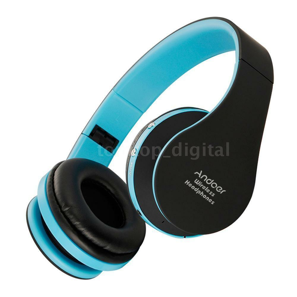Wireless Bluetooth Headphone Hi-Fi Foldable Headset Stereo Mic Over Ear US STOCK