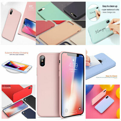 Hot Best Genuine Silicone Soft Liquid Luxury Case Cover For iPhone7+ 6P 8P (Best Covers For Iphones)