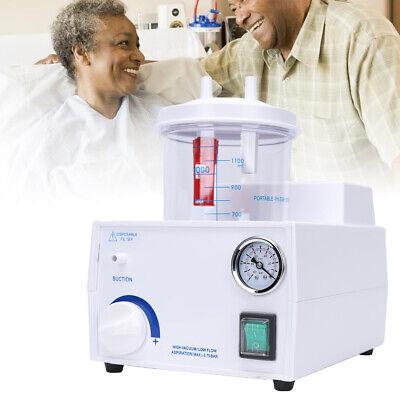 Electrical 110v Fda Phlegm Suction Unit Medical Device Vacuum Machine Aspirator