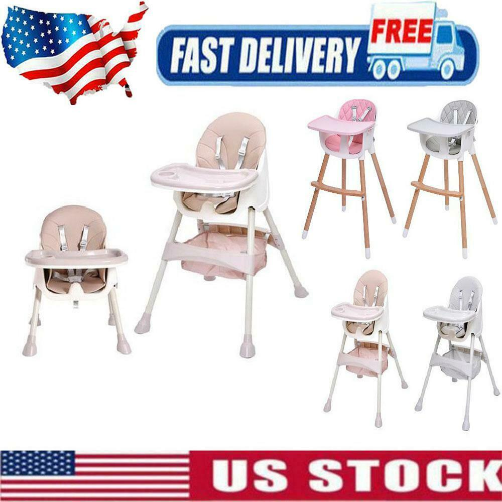Baby High Chairs Adjustable Highchair Feeding Dining Booster