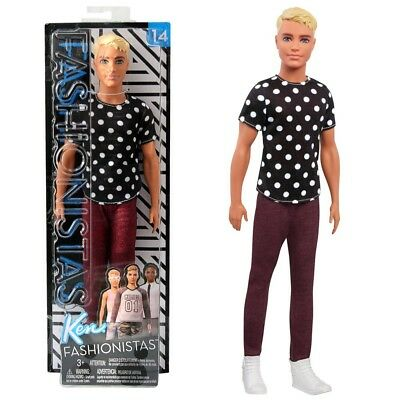 Black & White Ken | Barbie | Mattel FJF72 | Original Fashionistas 14 | Puppe