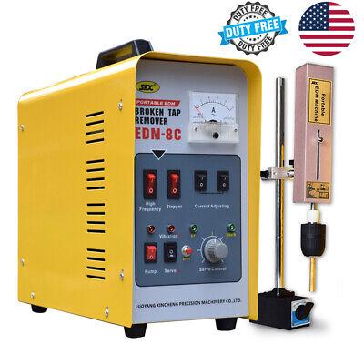 Us Stock Portable Edm Broken Tap Extractor Machine Edm-8c Metal Disintegrator