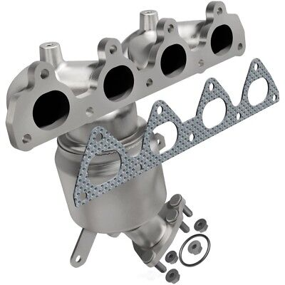 Exhaust Manifold with Integrated Catalytic Converter Front fits 96-00 Civic 1.6L