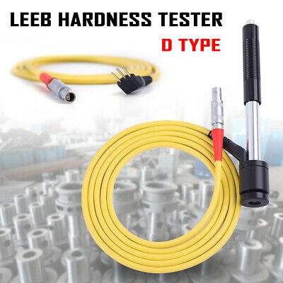 Portable Leeb D-type Hardness Tester Gauge For Metalsteel Surface Hardened