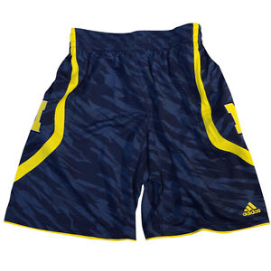 MICHIGAN WOLVERINES Sz L 2013 NCAA March Madness On Court Premier Shorts