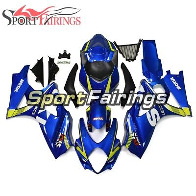 For Suzuki GSXR1000 K7 2007 2008 Injection Fairings & Body Work Blue Yellow Hull for sale  Shipping to Canada
