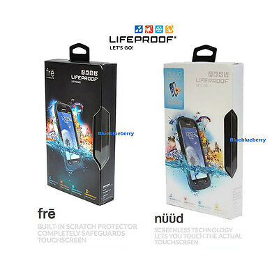 New Authentic LifeProof Fre or Nuud Waterproof Phone Case Samsung Galaxy S3