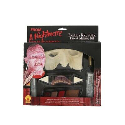Burn Scar Makeup (Freddy Krueger Makeup Kit Costume Nightmare On Elm Street Movie Scar Burn)