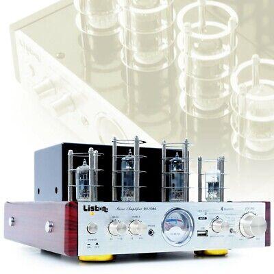 Tubos Amplificador Sonido Alta Fidelidad Bluetooth Aux 50 Vatios Rv 1080