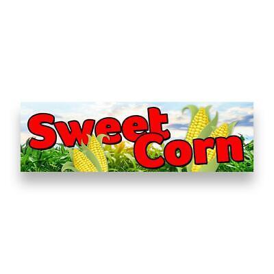Sweet Corn Vinyl Banner Size Options